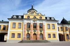 Castle of Weimar Stock Photography