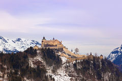 Castle Werfen near Salzburg Austria Royalty Free Stock Photos