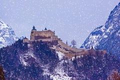 Castle Werfen near Salzburg Austria Stock Photography