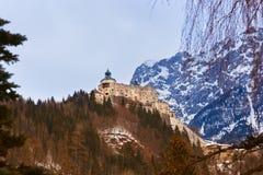 Castle Werfen near Salzburg Austria Royalty Free Stock Photos
