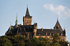 Castle Wernigerode Stock Image