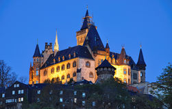 The castle of wernigerode Stock Image