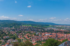 Castle of Wernigerode, Germany. Royalty Free Stock Photos