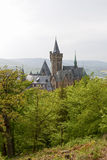 The Castle at Wernigerode Royalty Free Stock Photos