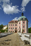 Castle. In western Bohemia in the summer hot day Stock Photos