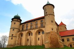 Castle in wiśnicz Royalty Free Stock Photography