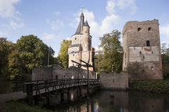 Castle in Wijk bij duurstede Royalty Free Stock Photography