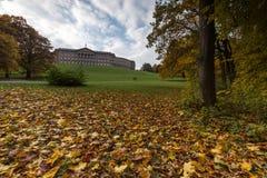 Castle wilhelmshoehe in kassel germany Stock Photography