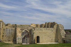 The castle of William the conqueror. Main entrance of the castle of William the conqueror in Falaise Normandy Stock Photos