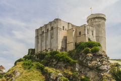 The castle of William the conqueror. The castle where William the conqueror was born in the town of Falaise in  Normandy Stock Images