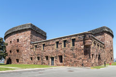 Castle Williams - Governors ISland, New York City Stock Images