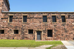 Castle Williams - New York City. Castle Williams: An Early 19th Century American Fort on Governors Island - New York City royalty free stock image