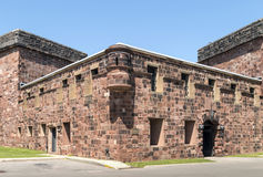 Castle Williams - New York City. Castle Williams: An Early 19th Century American Fort on Governors Island, NYC royalty free stock photo