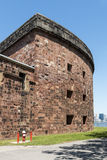 Castle Williams -New York City. Castle Williams: An Early 19th Century American Fort on Governors Island, NYC stock photography