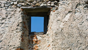 Castle window Stock Images