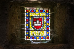 Castle Window stock image