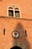 Castle window of gherardesca, Bolgheri, Tuscany Royalty Free Stock Photo