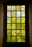 Castle window Royalty Free Stock Images