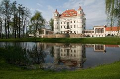 Castle Wojanow, Poland Royalty Free Stock Photo