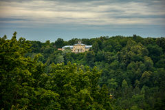 The castle in the woods Royalty Free Stock Images