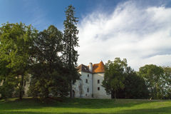 Castle in the woods Royalty Free Stock Images