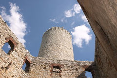 Castle -Wygiezlow Stock Photography