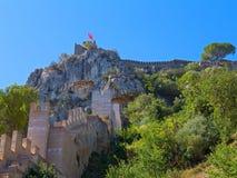Castle of Xativa, Valencia region, Spain. Royalty Free Stock Photography