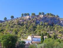 Castle of Xativa, Valencia region, Spain. Royalty Free Stock Image