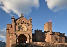 Castle of Xavier Castillo de Javier Stock Images