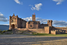 Castle of Xavier Castillo de Javier Royalty Free Stock Photography