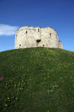 Castle York, Clifford's Tower Royalty Free Stock Photos