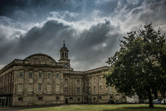 Castle in York in England the UK Royalty Free Stock Photography