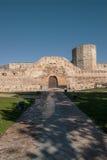 Castle of Zamora. Castle of Zamora, historic Stock Photos