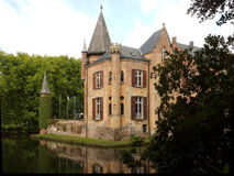 Castle zandhoven Royalty Free Stock Images