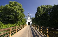 Castle in Zbaszyn Royalty Free Stock Photo