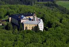 Castle Zbiroh. Castle house in czech republic air photo Stock Images