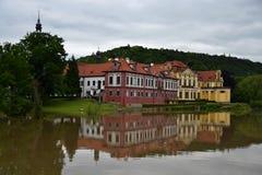 Castle Zbraslav Στοκ Εικόνες