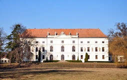 Castle - Zidlochovice Royalty Free Stock Image
