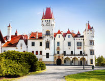 Fairytale Castle, Chateau Royalty Free Stock Images