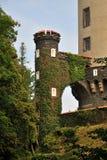 Castle Zleby Stock Photo