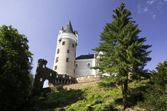 Castle Zleby royalty free stock photo