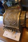 Retro cash register royalty free stock image