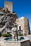 Castle Zuheros. Castle in the town of Zuheros, Córdoba Royalty Free Stock Photography