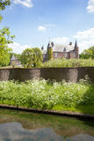 Castle Zuylen in spring Stock Images