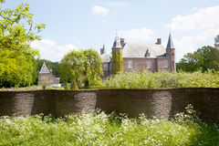 Castle of Zuylen in spring Stock Photography