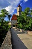 Castle Zvikov. Old castle Zvikov in Czech Republic Royalty Free Stock Photography