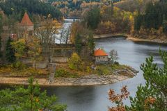 Castle Zvikov in Czech Republic Royalty Free Stock Photo