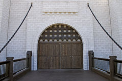 castle4 средневековое Стоковое Фото
