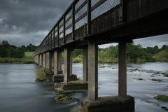 Castleconnel人行桥 库存照片