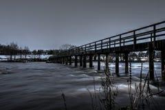 Castleconnell人行桥1 库存图片